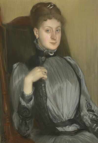 Jacques-Émile Blanche, 'Portrait of a Woman', 1890