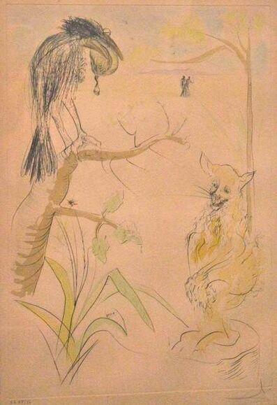 Salvador Dalí, 'Le Bestiaire de la Fontaine Dalinisé', 1974