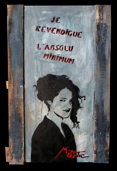Miss Tic, 'Je revendique l'absolu minimum', 1989