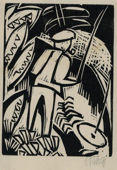 Karl Schmidt-Rottluff, 'Der Angler (Fisherman)', 1923