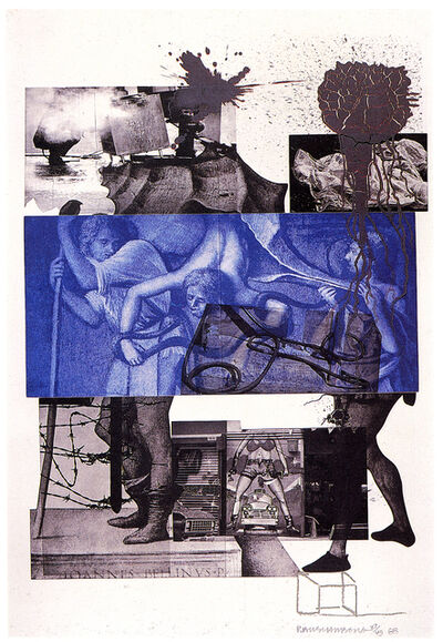 Robert Rauschenberg, 'Bellini #3', 1988