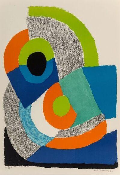 Sonia Delaunay, 'Arc Vert ', 1972