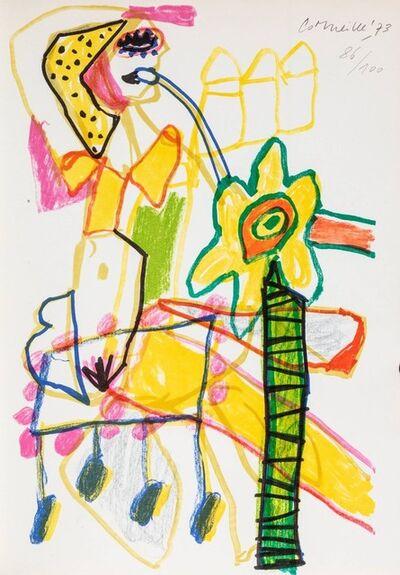 Corneille, 'Eugenio Montale - Cinquante ans de poesie', 1973