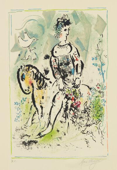Marc Chagall, 'Pierrot lunaire (Moon Pierrot)', 1969