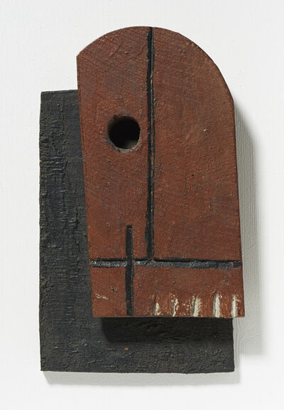 Joaquín Torres-García, 'Two superimposed forms', 1931