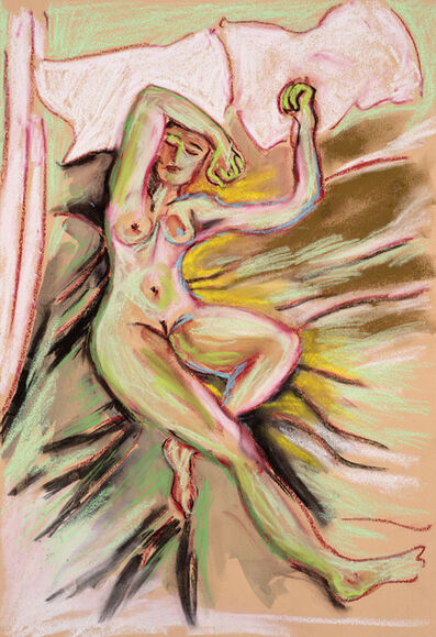 Christabel MacGreevy, 'Green Nude', 2019