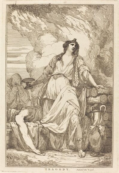 John Hamilton Mortimer, 'Tragedy', 1778