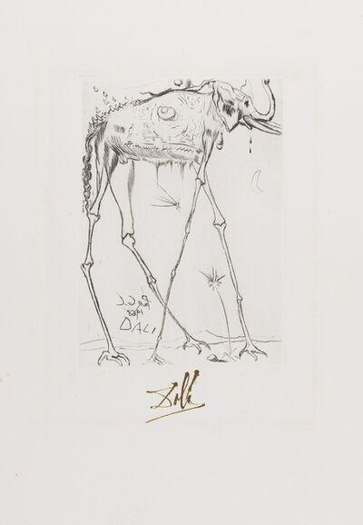 Salvador Dalí, 'Eléphant (from Fifteen Etchings) (Field 68-4G; M&L 283-e)', 1968