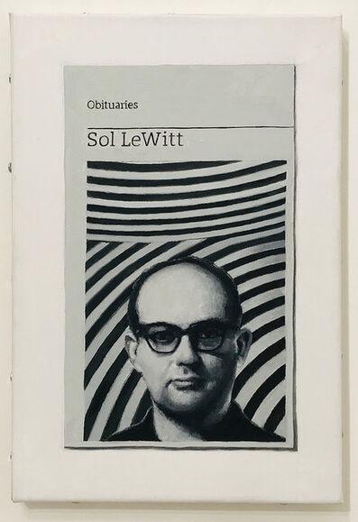 Hugh Mendes, 'Obituary: Sol LeWitt', 2018