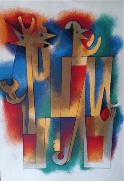 Carlos Merida, 'When you hear the lark sing', 1981