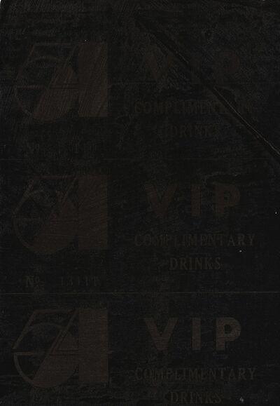 Andy Warhol, 'VIP Ticket'