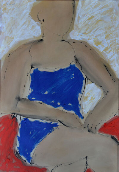 John Emanuel, 'Blue Sumer Dress', 2014