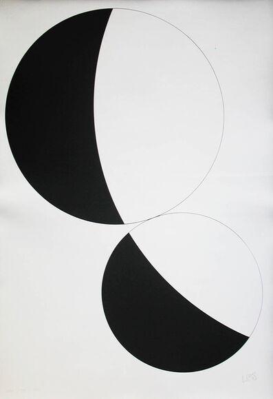Leon Polk Smith, 'werkübersicht 1946 - 1986 – print no. 08', 1987