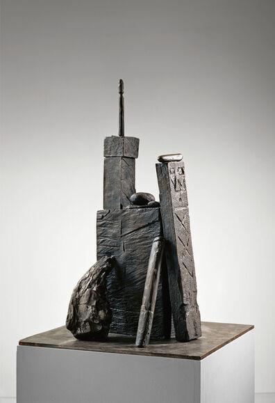 "A.R. Penck, '""Burg (Castle)""', 1990"