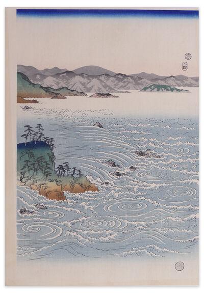 Utagawa Hiroshige (Andō Hiroshige), 'Rapids At Naruto', Early 20th Century