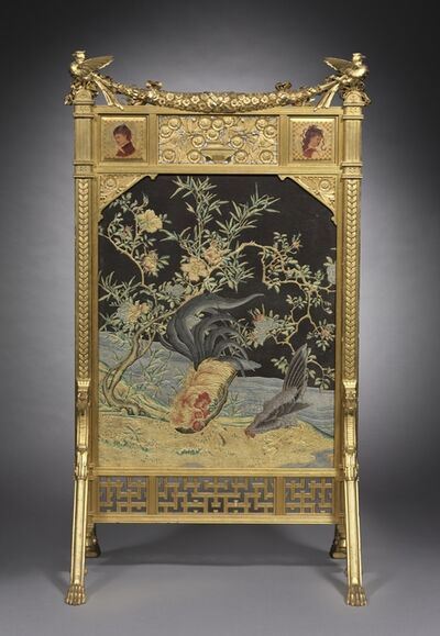Herter Brothers, 'Fire Screen', c. 1878-1880