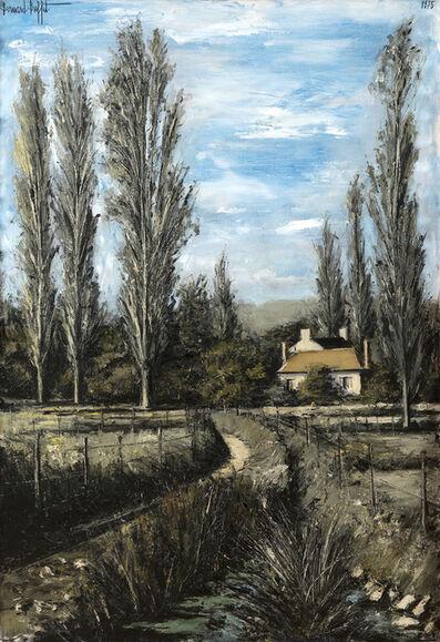 Bernard Buffet, 'Sainte-Marie, le petit château, Yonne', 1975