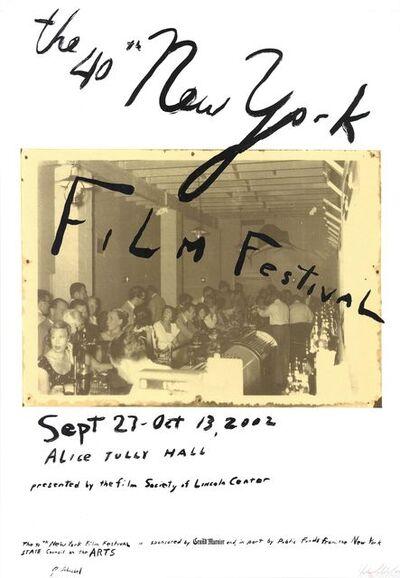 Julian Schnabel, 'The 40th New York Film Festival', 2002