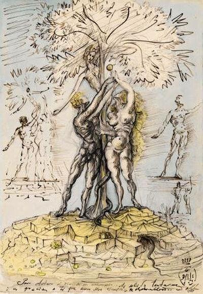 Salvador Dalí, 'Adam et Eve', 1948