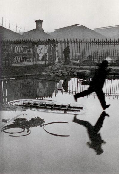 Henri Cartier-Bresson, 'Behind the Gare St Lazare, Paris', 1932
