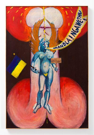 Wally Hedrick, 'Amandala! Ngawethu', 1986