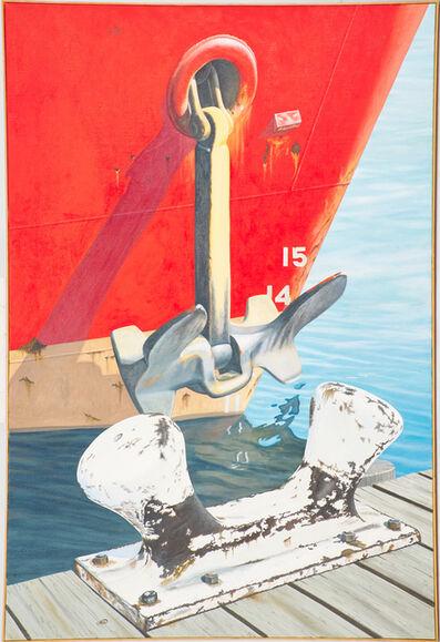 Joseph E. Richards, 'Red Tug', 1997