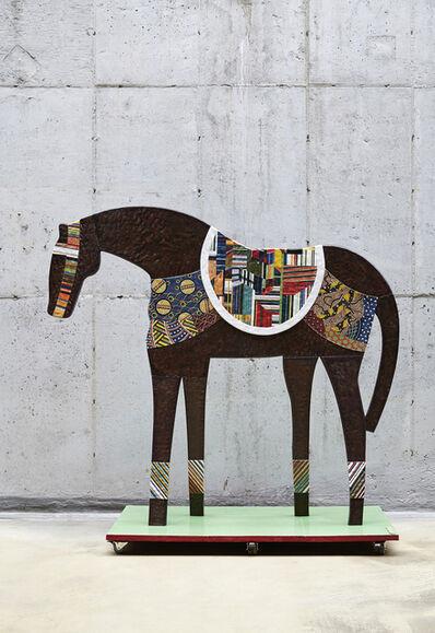 Sang Ho Shin, 'Horse - Emerald Green Pedestal', 2014