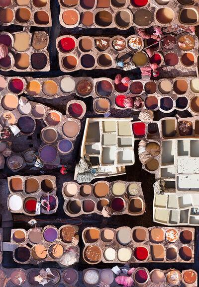 Katrin Korfmann, 'Chouara, Fes, 11th Century Tannery Morocco', 2018