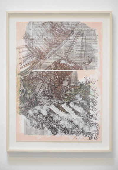 Pia Fries, 'paysages m. V', 2014