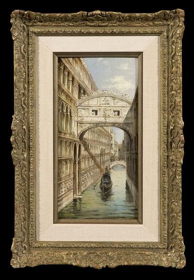 Marco Grubacs, 'Venice (pair)', ca. 1900