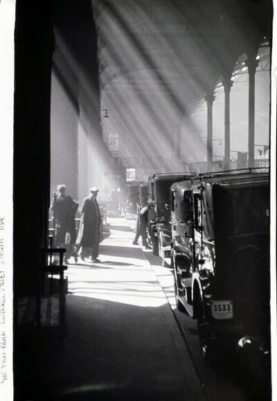 Joseph McKenzie, 'The Taxi Rank, Liverpool Street Station', 1949
