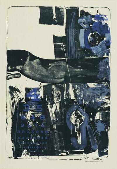 Robert Rauschenberg, 'Breakthrough II', 1965