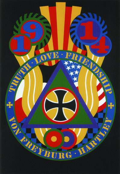 Robert Indiana, 'The Hartley Elegies KvF V', 1990