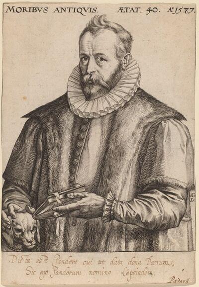 Hendrik Goltzius, 'Justus Lipsius', 1587