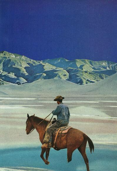 Jesse Treece, 'Blue Cowboy'