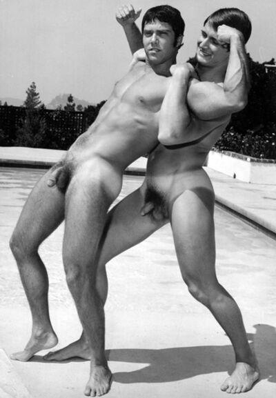 Bruce of Los Angeles, 'Drew Burton and Paul Strand', 1974