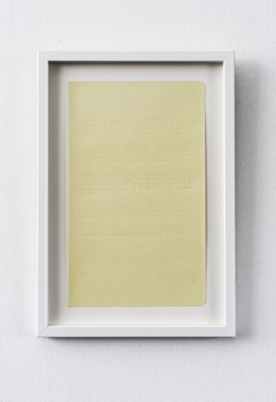 Julien Discrit, 'Diagrammes', 2016