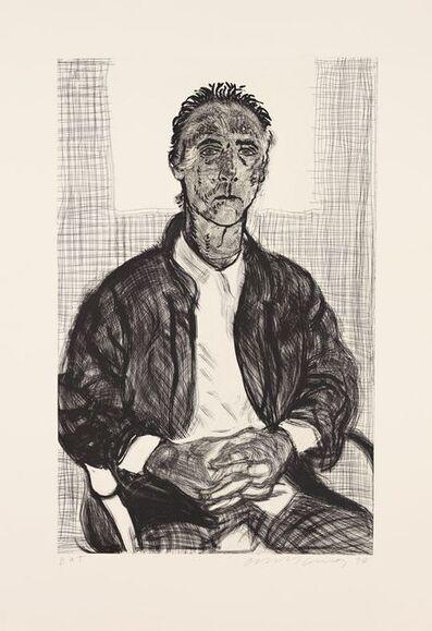 David Hockney, 'Maurice', 1998