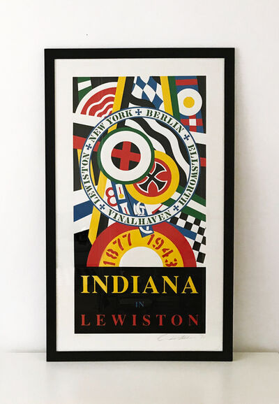Robert Indiana, 'Lewiston', 1991