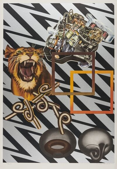 Peter Phillips, 'Safari (Silver)', 1971