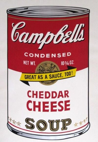 Andy Warhol, 'Campbell's Soup II: Cheddar Cheese (FS II.63)', 1969
