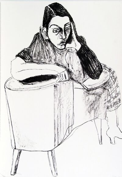 Alice Neel, 'Nancy', 1983