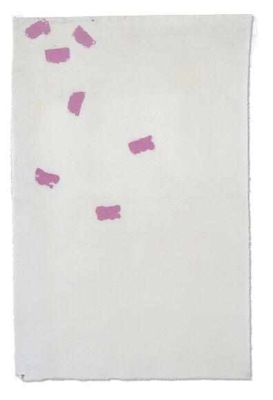 Giorgio Griffa, 'Dall'alto', 1968