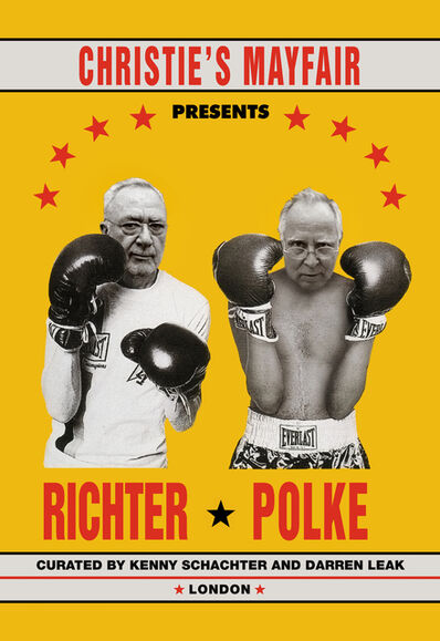 Kenny Schachter, 'Richter vs. Polke', 2019