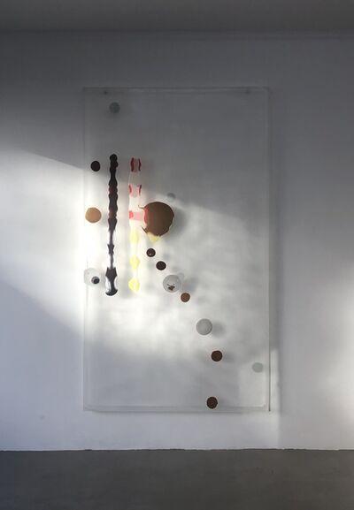 Helmut Dorner, 'Zwei Stäbe', 2009
