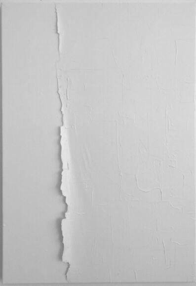 Alberto Gil Cásedas, 'PW6 (VII) AA. Prueba de Leucophobia: Blanco sobre blanco (Leukophobia test: White on white)', 2018