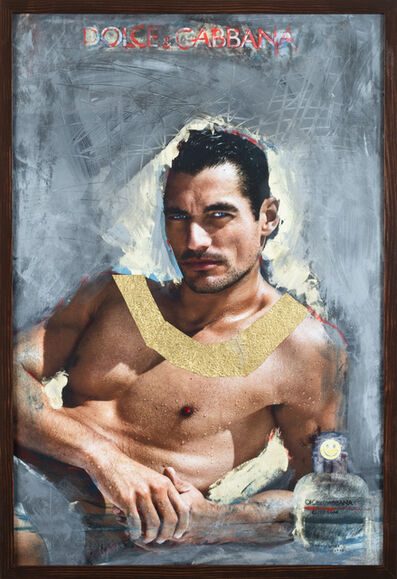 Grace Ndiritu, 'D&G David Gandy Pharaoh Gold', 2015-2018