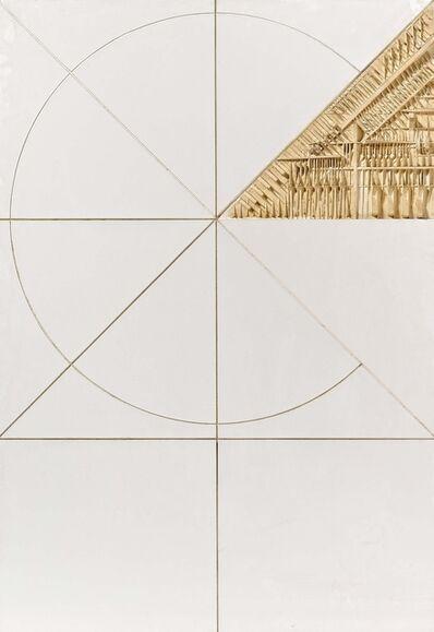 Arnaldo Pomodoro, 'Cerchio Quadrato', 1974