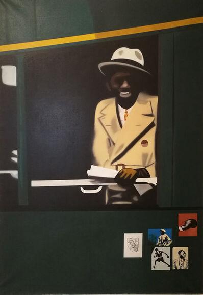 Eduardo Arroyo, 'Panama Al Brown', 1972