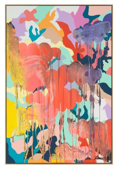 Christine Streuli, 'merging', 2018